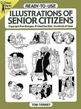 Ready-to-Use Illustrations of Senior Citizens (Dover Clip Art Ready-to-Use)