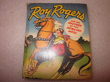 1948 Roy Rogers and the Mystery of the Howling Mesa Better Little Book #1448