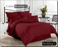 Hotel Scala Brand UK Size 1000 TC 100% Egyptian Cotton Bedding Items in Striped