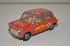 "Corgi Toys 349 Morris Mini Minor ""Pop Art"" Mini Mostest very scarce model"