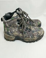 Red Head Camo Snake sz 5 Women  Hunting Waterproof Boots