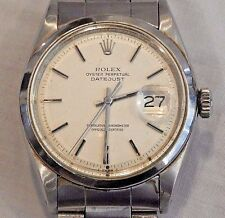 Vintage 1970s Rolex Oyster Perpetual Datejust Men's Wristwatch 1600 Serial #25