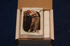 2001 SP AUTHENTIC GOLF SET W/O SP'S COMPLETE 90 CARDS  (SA415)