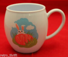 New Starbucks 2006 Easter Bunny Egg Plush Chick Melamine Child Mug Cup Rabbit