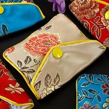 Women's Silk Pouch Purse Gift Bag Jewellery Bags Jewelry Chinese FASHION 12x/SET