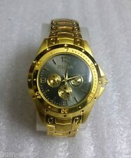 ROSRA BRAND CHRONOGRAPH STYLED MEN'S WRIST WATCH - GOLD B - ITEM # RO102