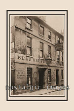PHOTO TAKEN FROM A VICTORIAN IMAGE BEAR BREWERY - BEAUFORT ARMS PRINCES ST BATH
