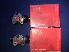 RENAULT LAGUNA MK1 HATCHBACK REAR BRAKE WHEEL CYLINDERS X2 PAIR APEC BCY1160
