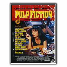 PULP FICTION TARANTINO METAL SIGN WALL PLAQUE Film Movie Advert poster art print