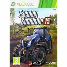 Farming SIMULATOR 15 2015 XBOX 360 PAL Nuovo UK Stock - 1st Class Recorded Delivery