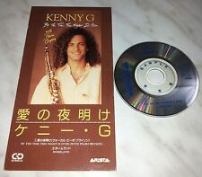 "CD KENNY G - BY THE TIME THIS NIGHT IS OVER - BVDA-65 - JAPAN 3"" INCH - PROMO"
