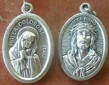 One Medal: Mater Dolorosa (Our Lady of Sorrows) & Ecce Homo (Behold the Man!)