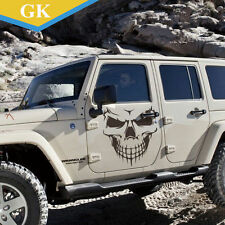 Silver Skull Hood Decal vinyl large Graphic sticker  Car tailgate window 27""