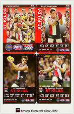 2009 AFL Teamcoach Trading Card Base Team set St. Kilda (12)