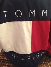 Vintage Tommy Hilfiger Big Flag Color Reversible Jacket Sz M polo92 93