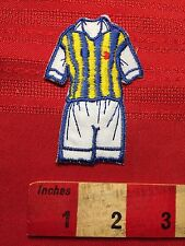 Uniform Patch ~ Maybe Soccer Or Rugby ? Quirky Headless Man S60H