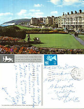 1976 WESTERN LAWNS & BEACHY HEAD EASTBOURNE SUSSEX COLOUR POSTCARD