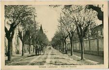 1914 Somma Lombardo - Vialle alla Stazione, carrozza in arrivo - FP B/N VG ANIM