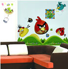 Angry Birds Wall Sticker Removable Kids Nursery Room Decal Home Decor