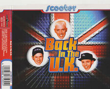 SCOOTER BACK IN THE U.K 4 TRACK CD SINGLE