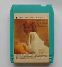 NICOLE CROISILLE Femme...CANADA 8 TRACK TAPE CARTRIDGE CARTOUCHE 8 PISTES FRENCH