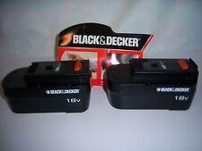 2 NEW HPB18 Black & decker 18v battery for power tools batteries 2015