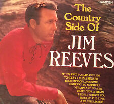 "Jim Reeves  The Country Side Of   10 Tracks   12"" LP 33rpm   CDS1000   Camden"
