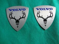 volvo moose emblem badge 2PCS s40 s60 xc90 850 s70 s80 v70 v50 240 940