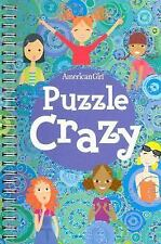 American Girl BOOK PUZZLE CRAZY Riddles Cross Grid Teasers Girls Crosswords NEW