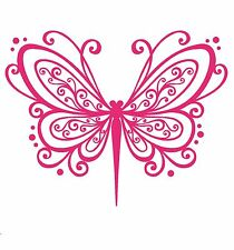 Vinyl DragaonflyDecal/ Sticker/Wall Decal/Embelishment/Arts and Crafts