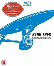 Star Trek: The Movies 1-10 (Box Set) [Blu-ray]