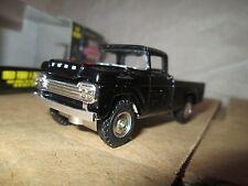 1959 ford f250 pickup truck Black  4x4  Racing champions 1:64 limited mint ed