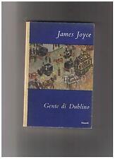 James Joyce GENTE DI DUBLINO Einaudi Coralli 1949 prima edizione