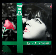 "Rose McDowall Don't Fear The Reaper 12"" VG+ 12RDS3 Rio Digital UK Synth-pop"