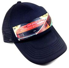CHEVY CAMARO FULL COLOR SEATBELT STRAP MESH TRUCKER SNAPBACK HAT CAP CHEVROLET