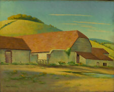 Frank Sully - Mid 20th Century Oil, Charlton, Sussex