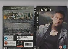 I ROBOT DVD 2 DISC STEELBOOK VERSION WILL SMITH