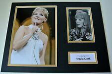 Petula Clark Signed Autograph 16x12 photo mount display Music Memorabilia & COA