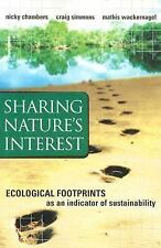 Sharing Nature's Interest: Ecological Footprints as an Indicator of Sustainabili