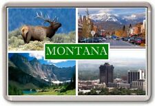 FRIDGE MAGNET - MONTANA - Large - USA America TOURIST