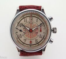 .1940S SAVOY WATCH CO TWO BUTTON CHRONOGRAPH GNTS WATCH