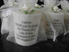 Personalised scented candle Valentines day Mothers day Birthday Christmas Any