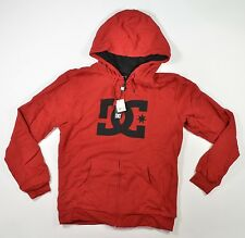 DC Shoes TANGLE Hoodie Red Medium Mens New