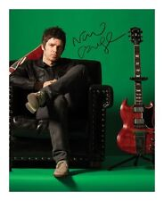 NOEL GALLAGHER SIGNED AUTOGRAPHED A4 PP PHOTO POSTER A
