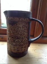 Quantock Pottery Jug with Lion Design