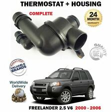 FOR LAND ROVER FREELANDER 2.5i V6 25KV6 2000-2006 NEW THERMOSTAT & HOUSING KIT