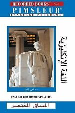 Pimsleur Language Program, English for Arabic Speakers The Short Course, 4 CD S