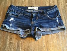 Gently Used Abercrombie & Fitch Jean Shorts Size 0/25