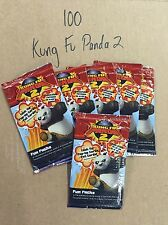 Kung Fu Panda 2 Trading Cards : Lot of 100 X BOOSTER Packs BRAND NEW