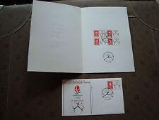 FRANCE  - 1 document 1 enveloppe 1er jour 3/8/1991 (jo albertville) (cy74) (A)